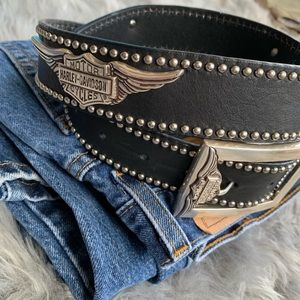 Harley Davidson Leather Belt